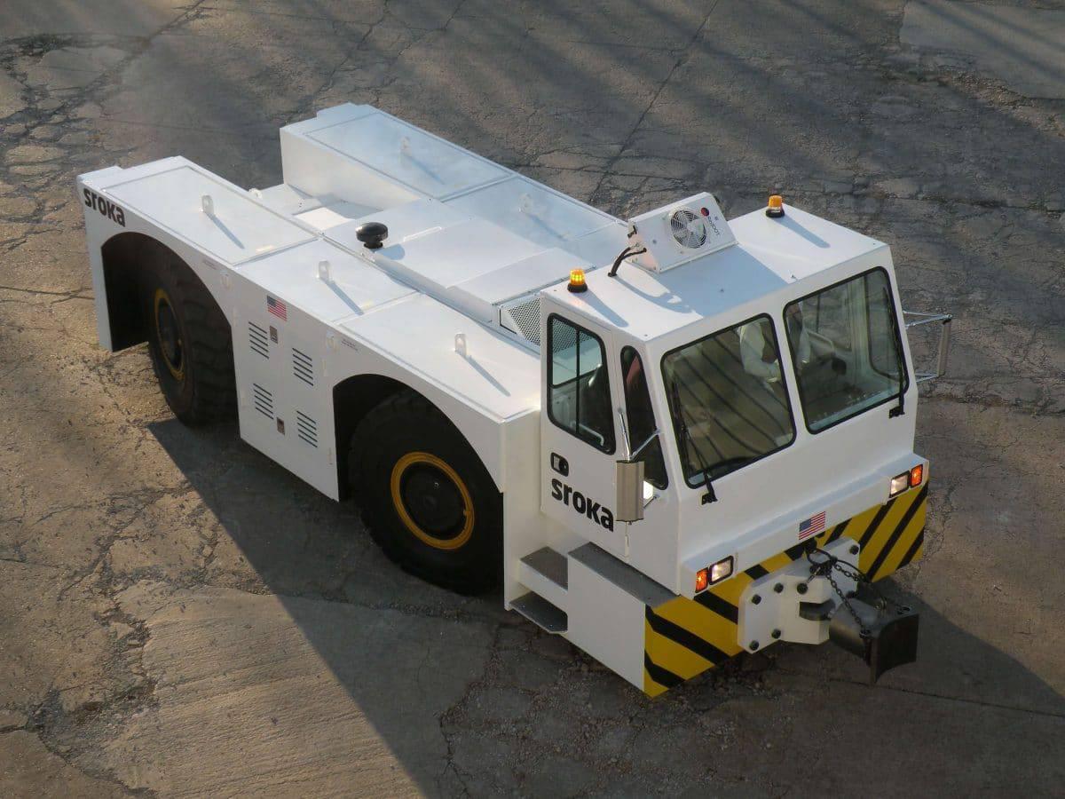 Aircraft Tug Pushback Tow Tractors | Sroka