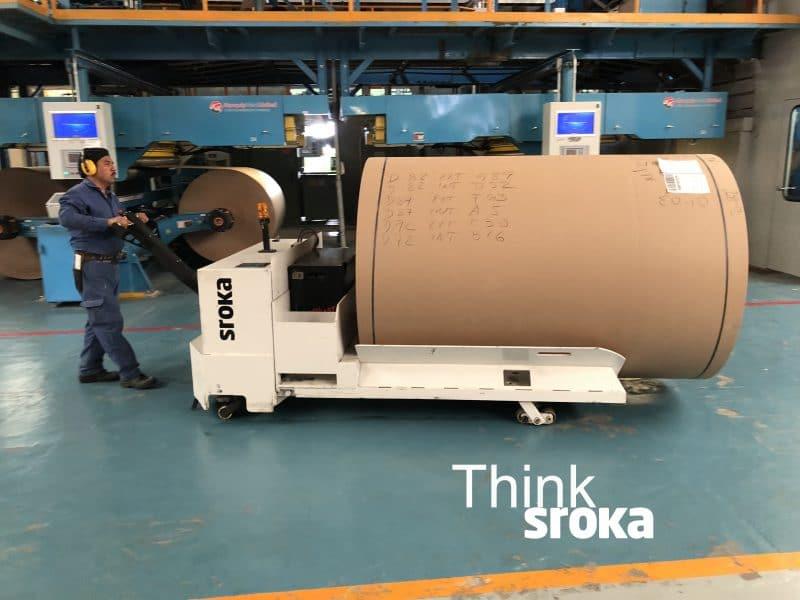 10,000 LBS Capacity Paper Roll Handler Lift Truck | Sroka